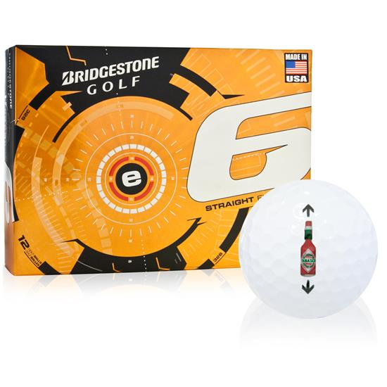 TABASCO Brand Bottle Alignment Aid Golf Balls