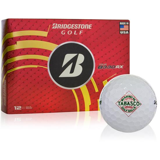 TABASCO Brand Diamond Label Design Golf Balls