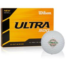 TABASCO Brand Diamond Label Design Golf Balls - Wilson Ultra 500