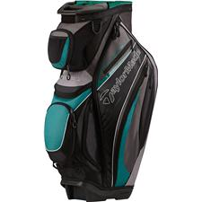 Taylor Made Catalina Personalized Cart Bag - Black-Gray-Dark Green