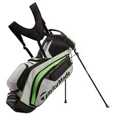 Taylor Made PureLite Personalized Stand Bag - Gray-Green