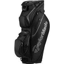 Taylor Made San Clemente Personalized Cart Bag - Black-Charcoal