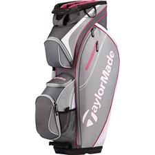 Taylor Made San Clemente Personalized Cart Bag - Gray-Pink