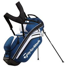 Taylor Made Supreme Hybrid Personalized Stand Bag - Blue-Black