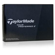 Taylor Made Prior Generation Tour Preferred X Logo Golf Balls