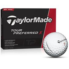 Taylor Made Tour Preferred X Golf Balls - 2016 Model