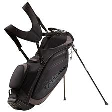 Taylor Made TourLite Personalized Stand Bag - Black-Charcoal