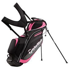 Taylor Made TourLite Personalized Stand Bag - Black-Pink
