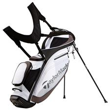 Taylor Made TourLite Personalized Stand Bag - White-Black-Charcoal