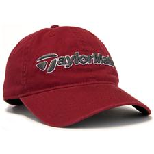 Taylor Made Men's Tradition Personalized Hat - Burgundy