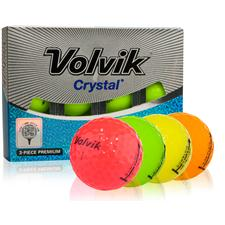 Volvik Crystal 3-Piece Golf Balls