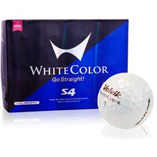 Volvik White Color S4 Golf Balls