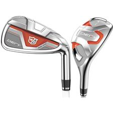 Wilson Staff Defy Hybrid/Iron Graphite Set for Women