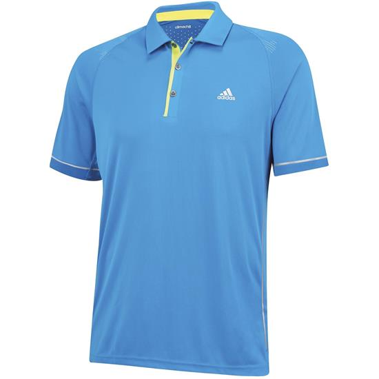 Adidas Men's ClimaChill Shoulder Print Polo
