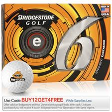 Bridgestone Prior Generation e6 Logo Golf Balls