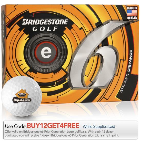 Bridgestone Prior Generation e6 Golf Balls