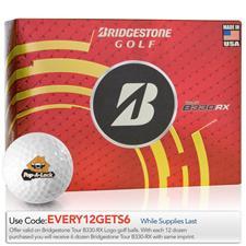 Bridgestone Tour B330-RX Logo Golf Balls