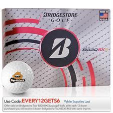 Bridgestone Tour B330-RXS Logo Golf Balls