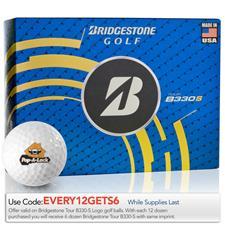 Bridgestone Tour B330-S Logo Golf Balls