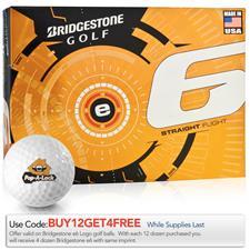 Bridgestone e6 Custom Logo Golf Balls