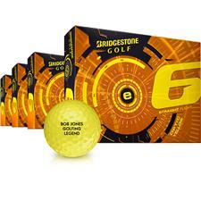 Bridgestone e6 Yellow Golf Balls - Buy 3 DZ Get 1 DZ Free