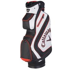 Callaway Golf Chev Personalized Cart Bag - White-Black-Red