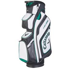 Callaway Golf Chev Org Personalized Cart Bag - White-Black-Green