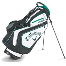 Callaway Golf Chev Personalized Stand Bag - White-Black-Green