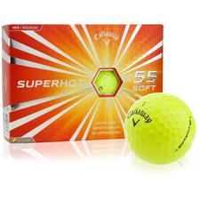 Callaway Golf Superhot 55 Yellow Golf Balls