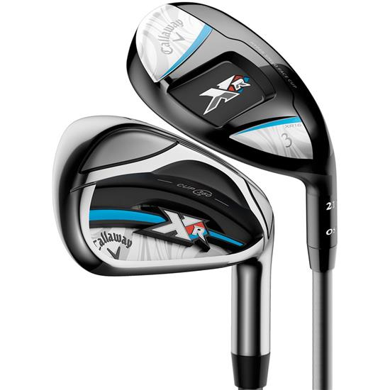 Callaway Golf XR OS Graphite Combo Iron Set for Women