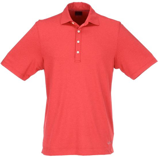 Greg Norman Men's ML75 Stretch Heathered Polo