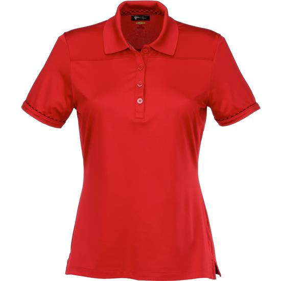 Greg Norman Short Sleeve Yoked Polo for Women
