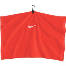 Nike Embroidered Personalized Towel - Bright Crimson-White