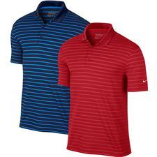 Nike Men's Icon Stripe Polo Manufacturer Closeout
