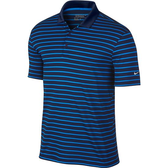 Nike Men's Icon Stripe Polo Manufacturer Closeout