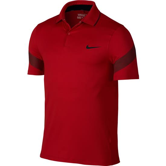 Nike Men's MM Fly Framing Commander Polo Manf. Closeout