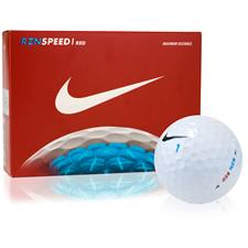 Nike Custom Logo RZN Speed Red Golf Balls