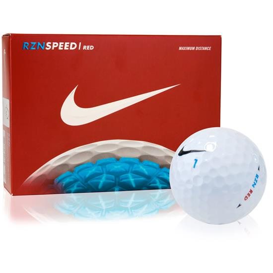 Nike RZN Speed Red Golf Balls