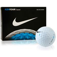 Nike RZN Tour Black Custom Express Logo Golf Balls