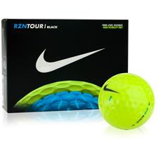 Nike RZN Tour Black Volt Golf Balls