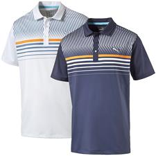 Puma Men's Surface Stripe Polo