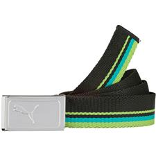 Puma Works Web Belt - Black-Green Gecko