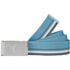 Puma Works Web Belt - Blue Heaven-White