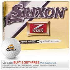 Srixon Custom Logo Z Star 4 Golf Balls