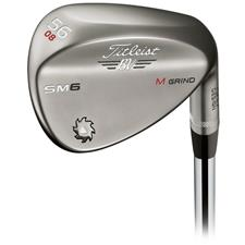 Titleist Vokey Design SM6 Steel Grey Wedge