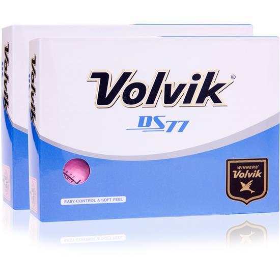 Volvik DS77 Double Dozen Pink Golf Balls