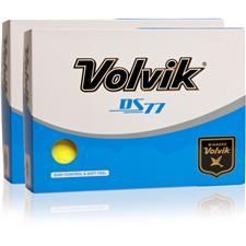 Volvik DS77 Double Dozen Yellow Golf Balls