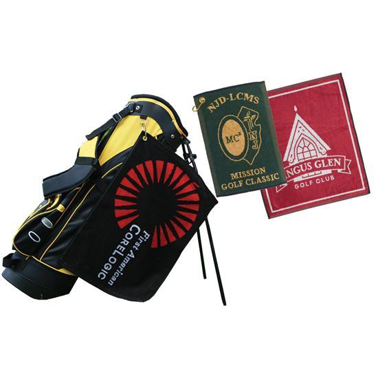 Logo Golf Jacquard Woven Towels