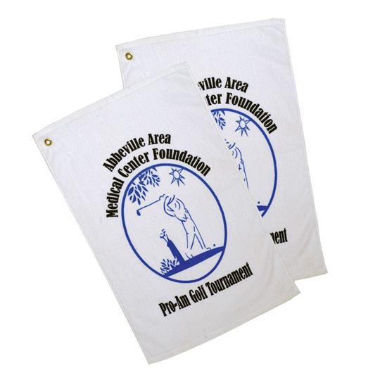 Logo Golf Screen Printed Lightweight Golf Towels