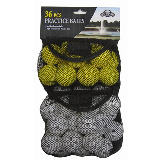 OnCourse 36 pc. Practice Balls